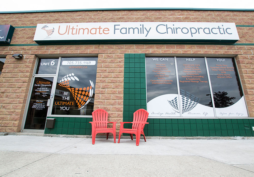 Front of Ultimate Family Chiro