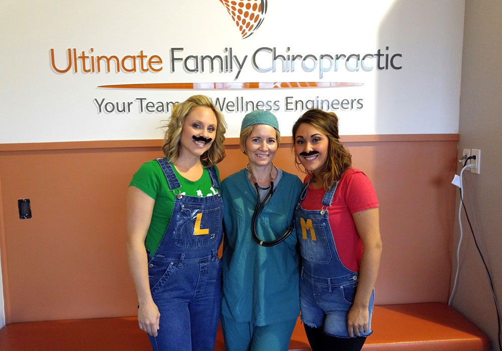 Ultimate Family Chiropractic Halloween